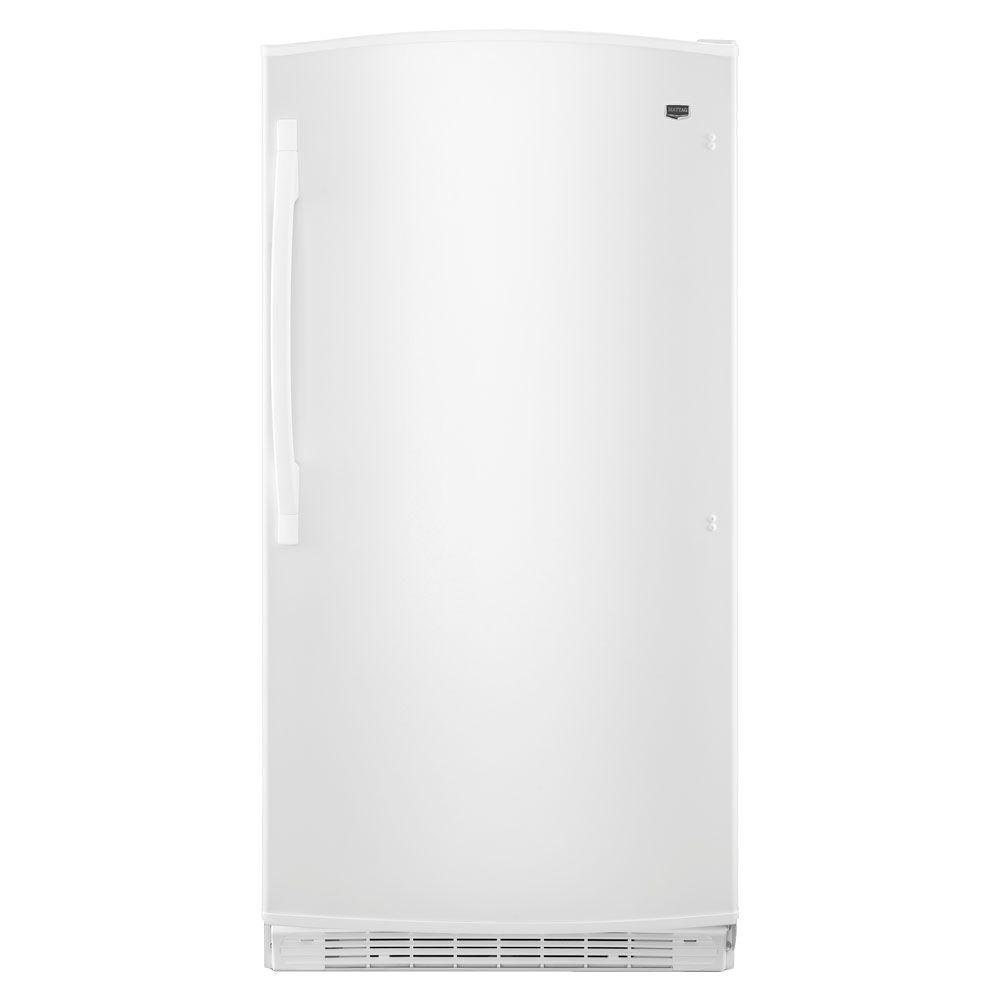 15.8 cu. ft. Frost Free Upright Freezer in White