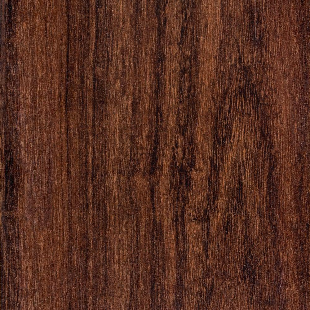 Hampton Bay Hand Scraped Canyon Grenadillo 8 mm Thick x 5-9/16 in. Wide x 47-3/4 in. Length Laminate Flooring (18.45 sq. ft. / case)