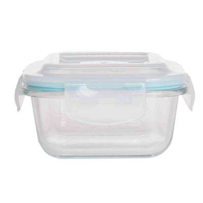 Rectangular Borosilicate Glass Food Storage Container