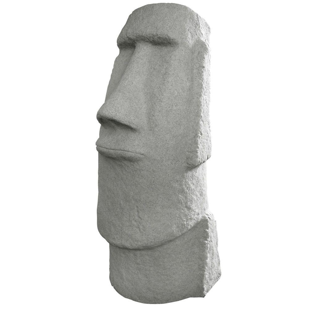 Attractive Emsco Easter Island Granite Resin Head Statue