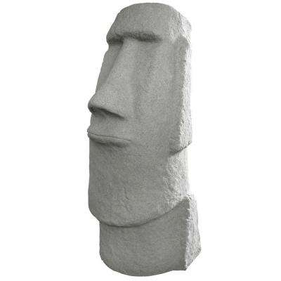 Easter Island Granite Resin Head Statue