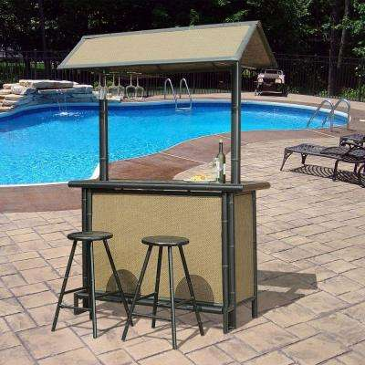 Fiji 3 Piece Patio Bar Set