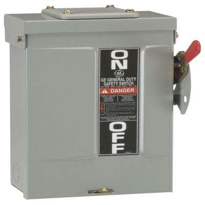 30 Amp 240-Volt Fusible Outdoor General-Duty Safety Switch