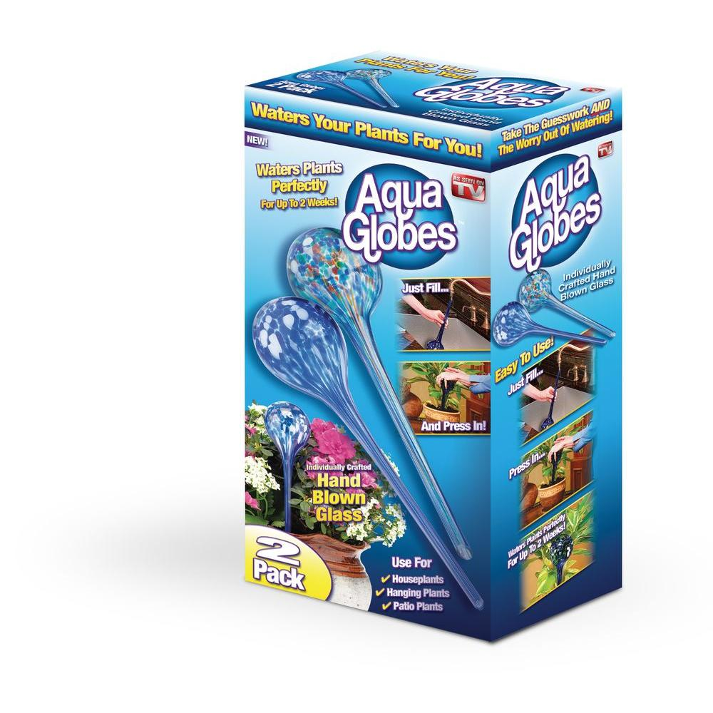 Aqua Globes Large Water Globe (2-Pack)