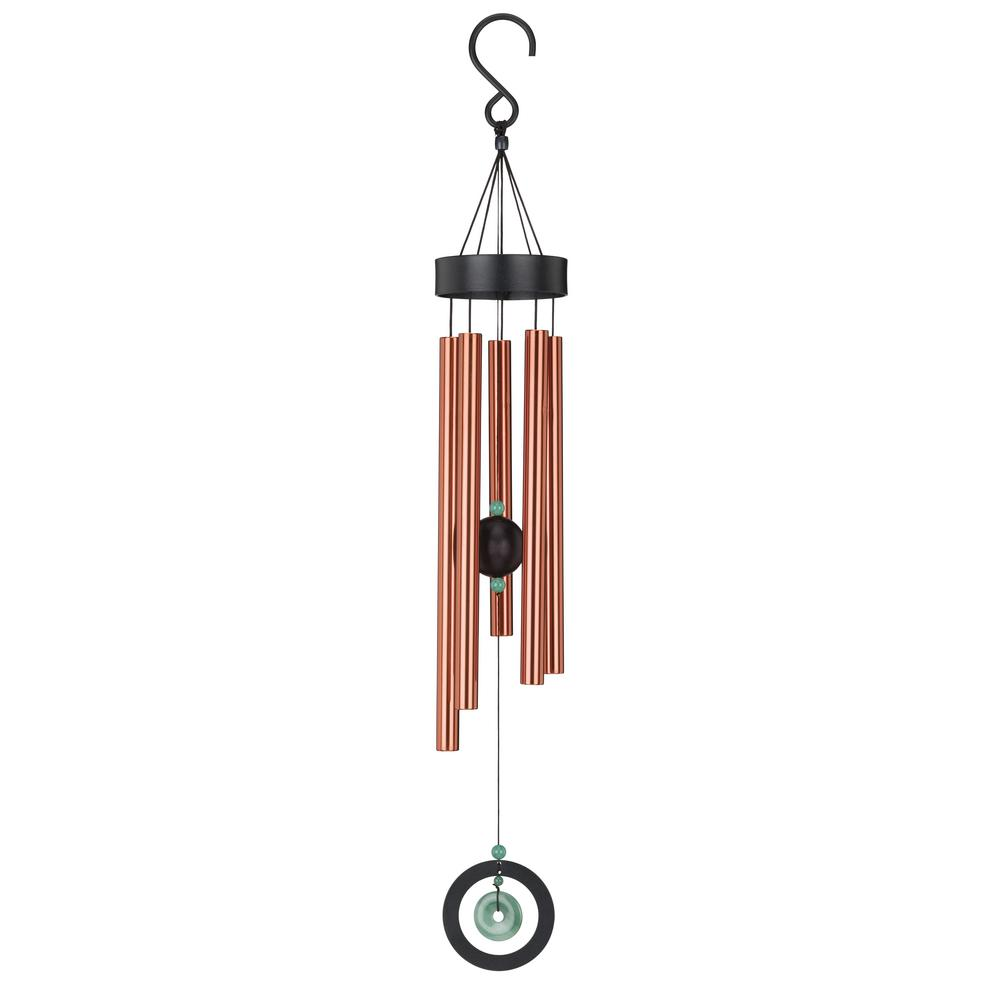 Regal Precision Tuned Healing Stone 32 In Wind Chime Jade