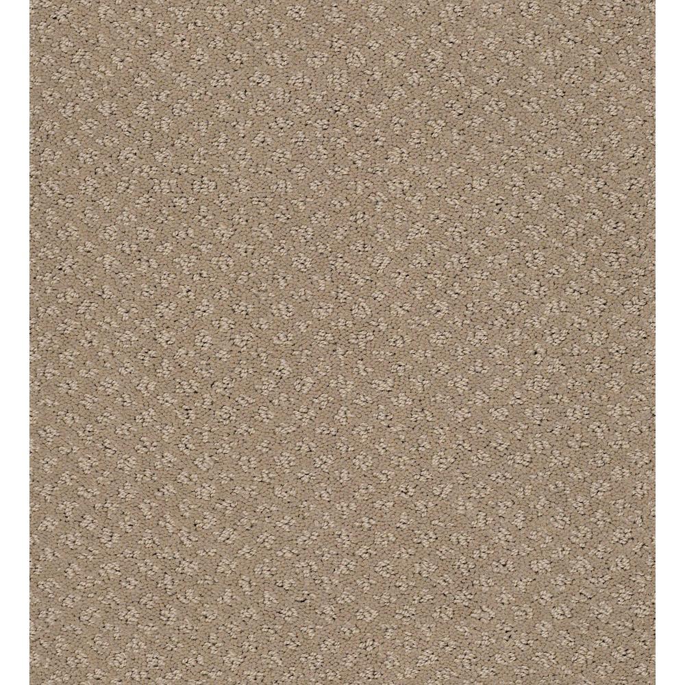 Corben - Color Warm Clay Pattern 12 ft. Carpet