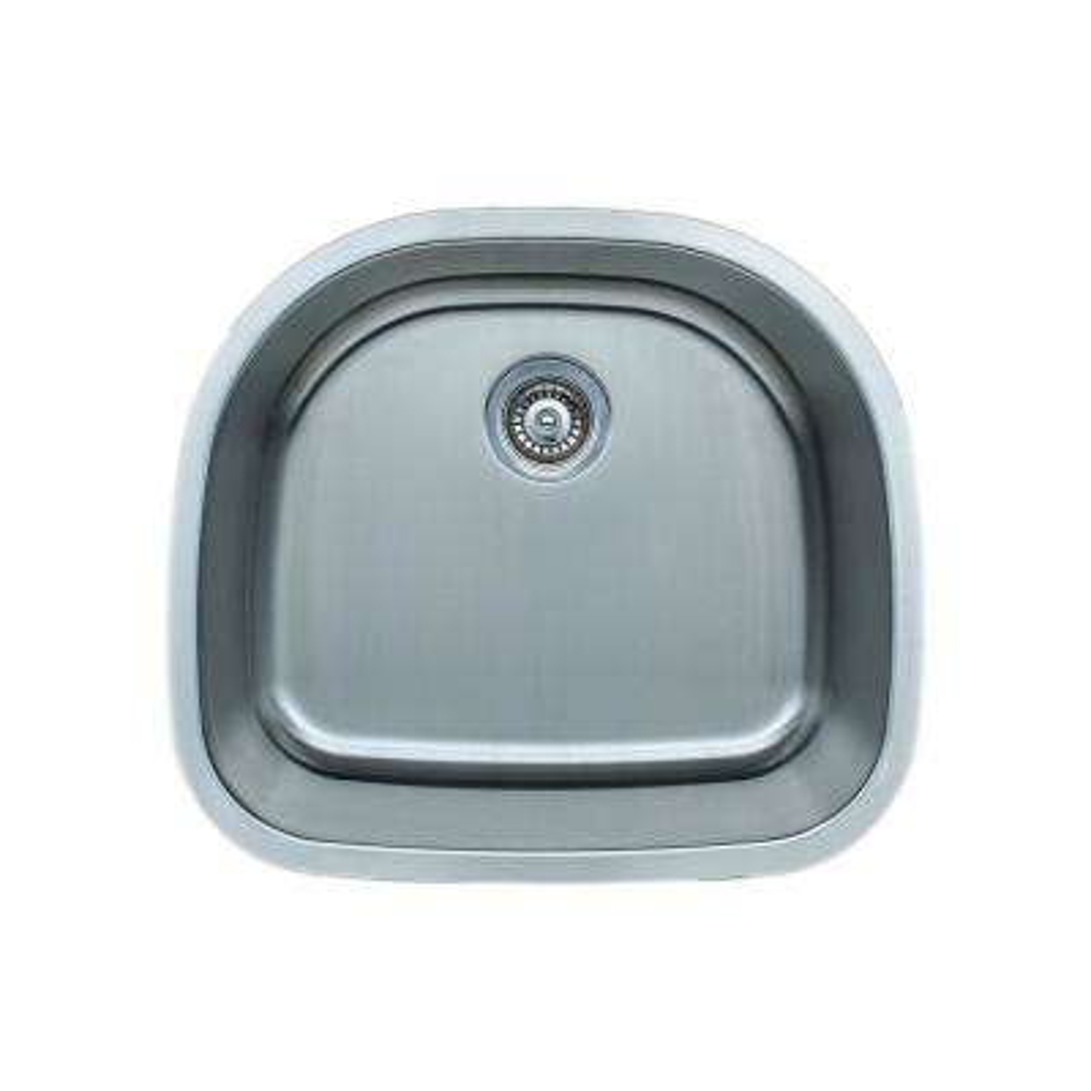 The Craftsmen Series Undermount  Stainless Steel 23 in. Single Bowl Kitchen Sink Package