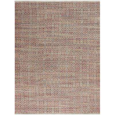 Zoelie Rust 5 ft. x 8 ft. Rectangle Area Rug