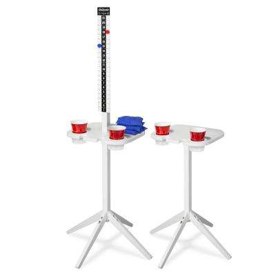 Scorecaddy Outdoor Game Score Keeper and Drink Stand Set