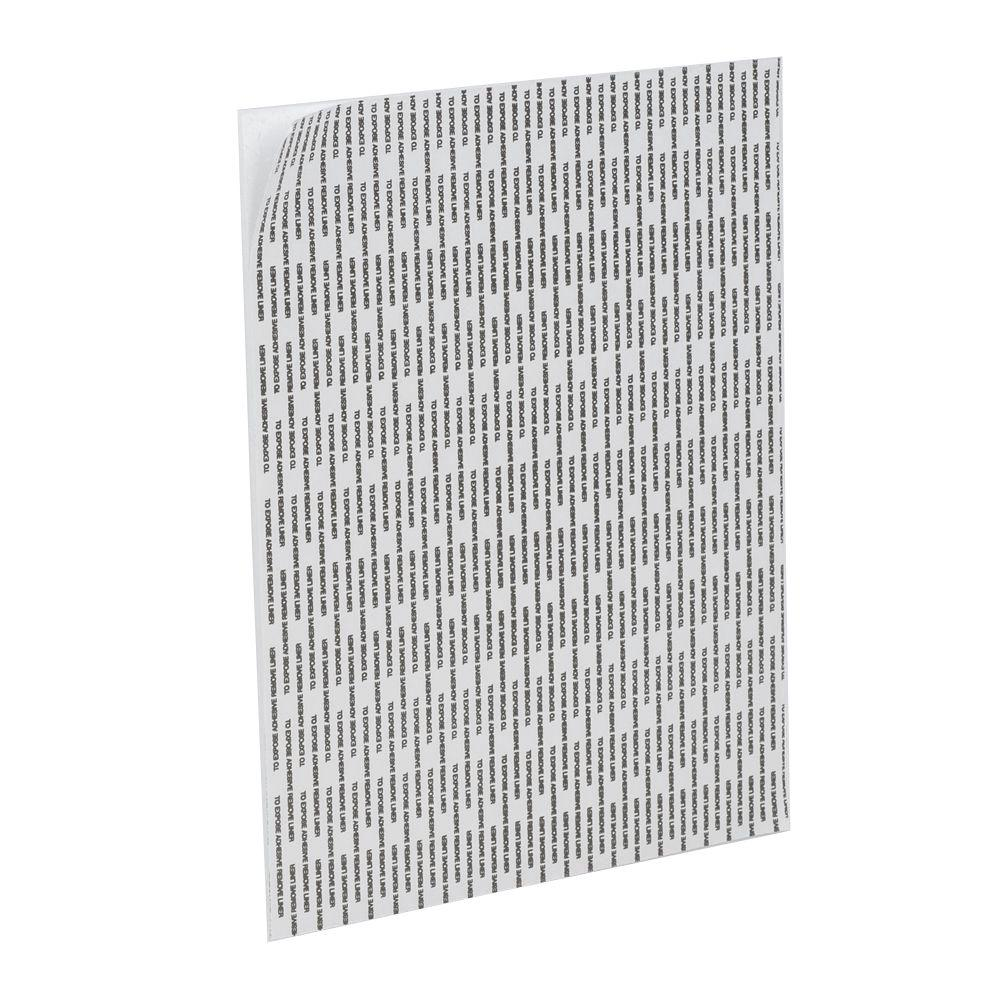 Insite Reveal 20 in. x 30 in. x 3/16 in. White Foam Mounting Board with Peel n Stick Adhesive (4-Piece/Pack)
