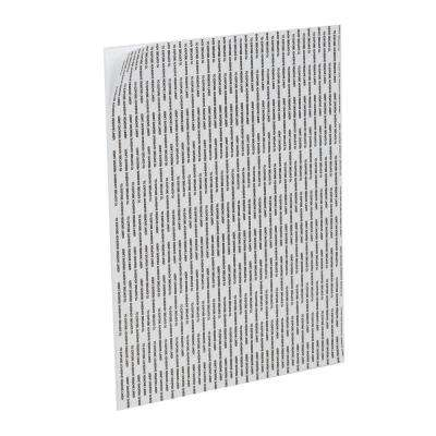 20 in. x 30 in. x 3/16 in. White Foam Mounting Board with Peel n Stick Adhesive (4-Piece/Pack)