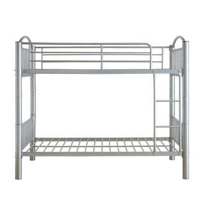 Cayelynn Silver Twin Over Twin Bunkbed