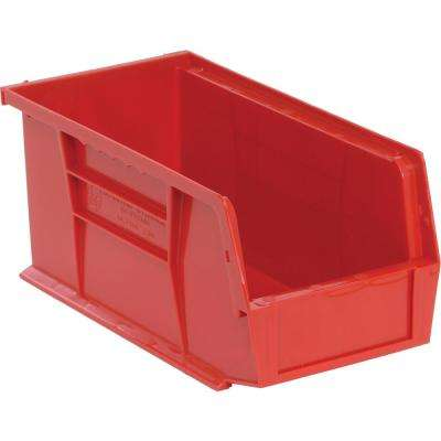 Ultra Series Stack and Hang 3.5 Gal. Storage Bin in Red (12-Pack)