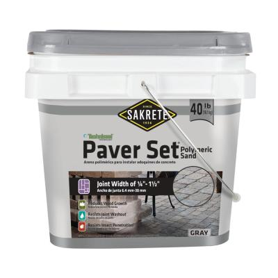Paver Set 40 lb. Gray Paver Joint Sand