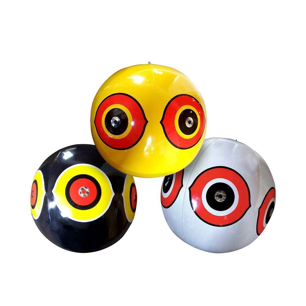 VisualScare Scary Eye Balloon Inflatable Bird Repellent (3-Pack)