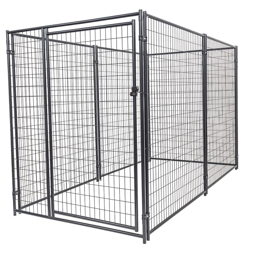 Lucky Dog 6 Ft H X 5 Ft W X 10 Ft L Modular Kennel Welded Wire Kit Cl 66150 The Home Depot