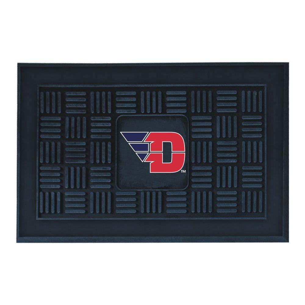 NCAA University of Dayton 19 in. x 30 in. Vinyl Door Mat
