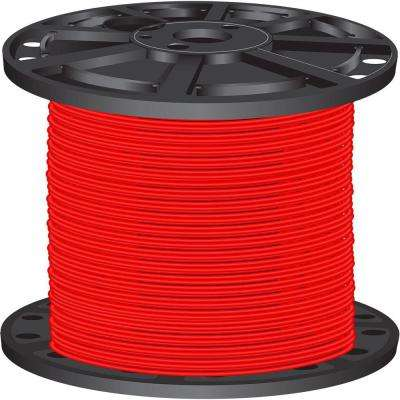 2,500 ft. 10-Gauge Red Stranded CU XHHW Wire
