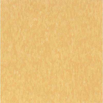 Take Home Sample - Imperial Texture VCT Golden Limestone Standard Excelon Commercial Vinyl Tile - 6 in. x 6 in.