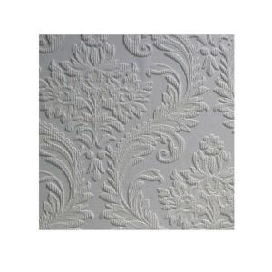 57 5 Sq Ft High Trad Paintable Textured Vinyl Wallpaper