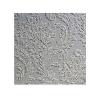 57.5 sq. ft. High Trad Paintable Textured Vinyl Wallpaper