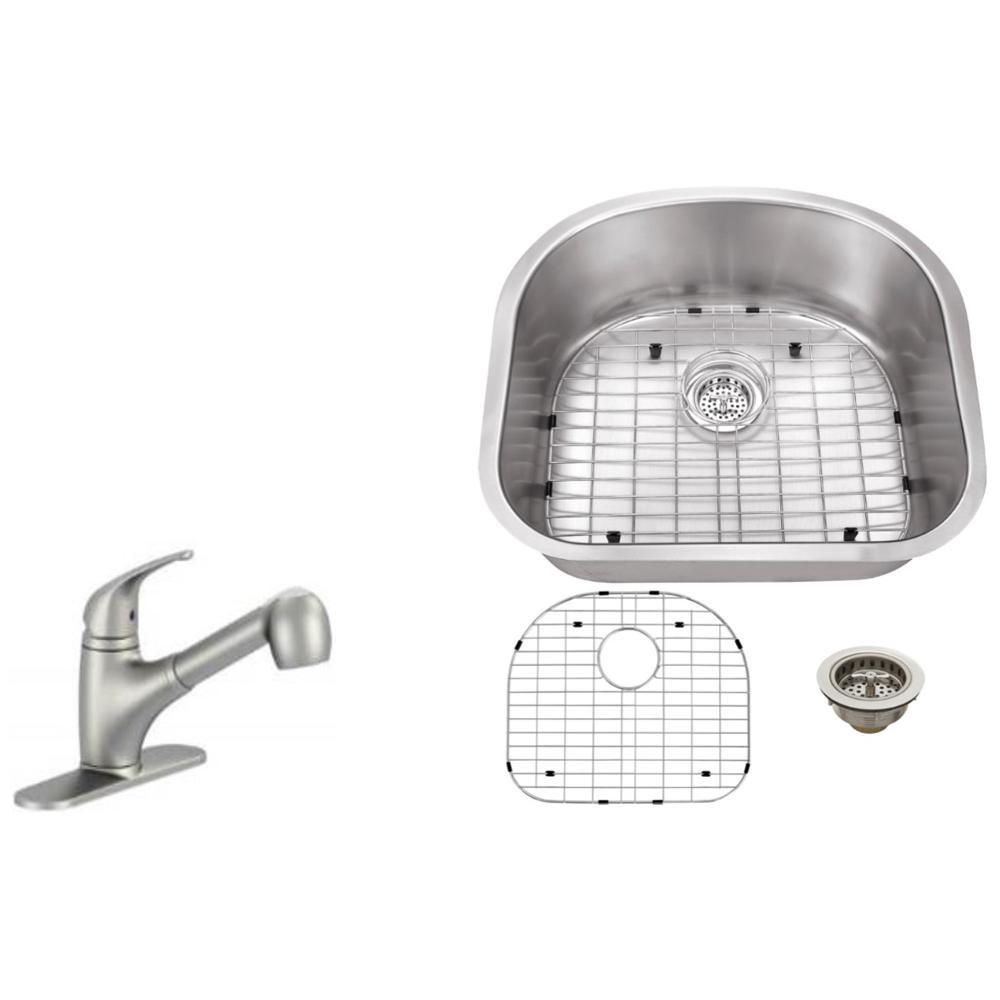 Ipt sink company undermount 23 in 16 gauge stainless steel kitchen ipt sink company undermount 23 in 16 gauge stainless steel kitchen sink in brushed workwithnaturefo