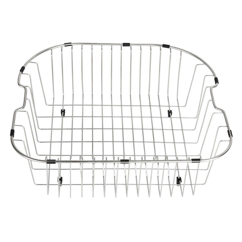 Rinse Basket in Stainless Steel