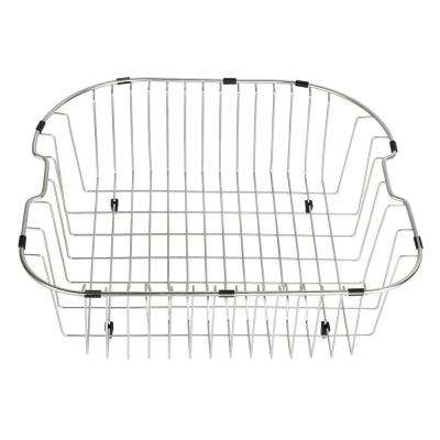 Rinse Basket in Stainless Steel
