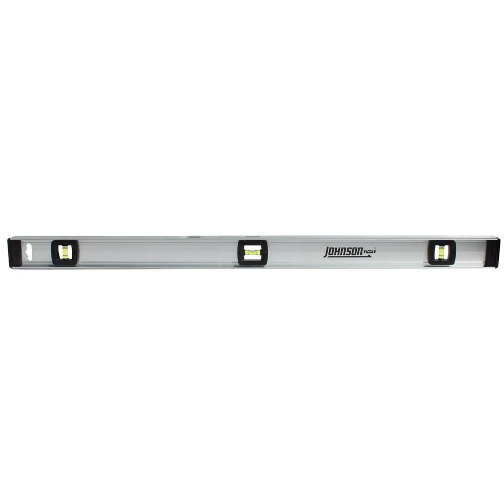 Johnson 36 in. Aluminum Level with Rule
