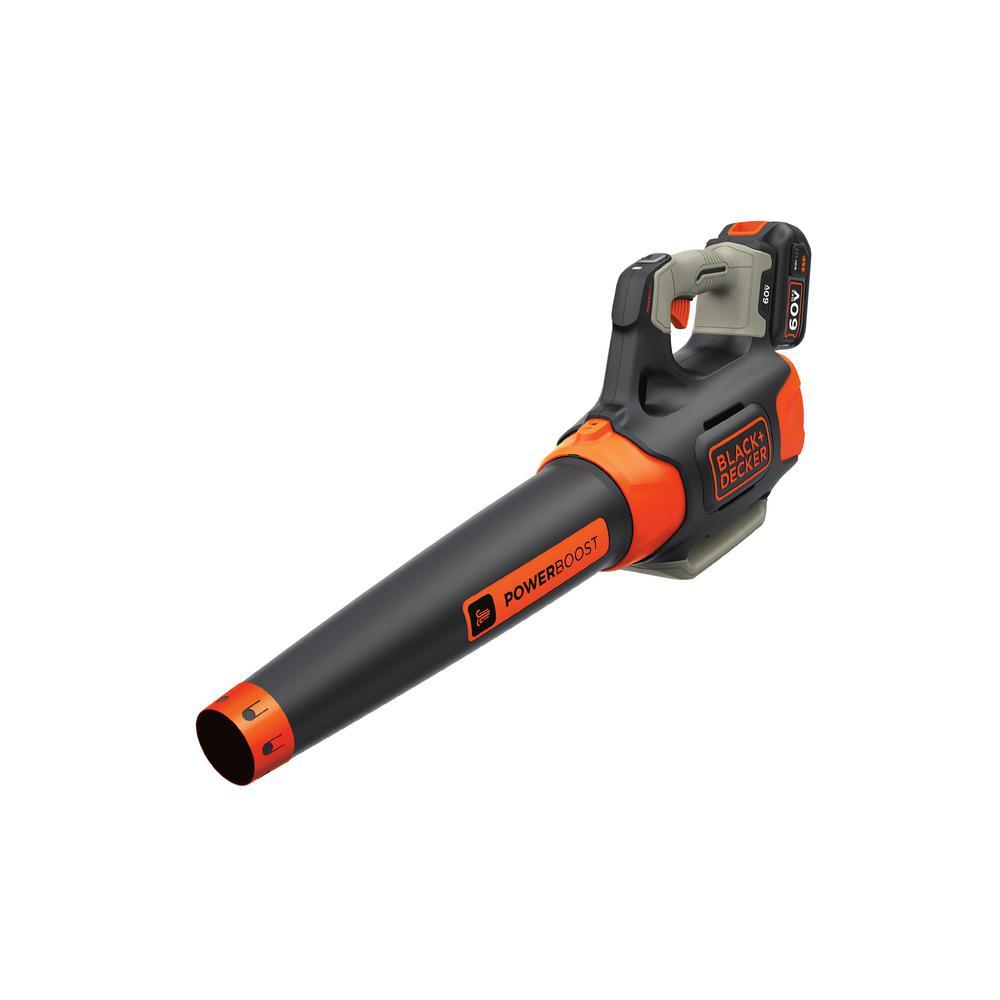 100 MPH 400 CFM 60-Volt MAX Lithium-Ion Cordless Handheld Leaf Blower