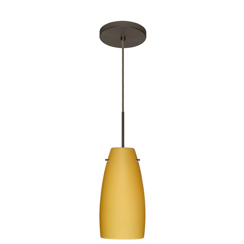Filament Design Manhattan 1-Light Bronze Pendent