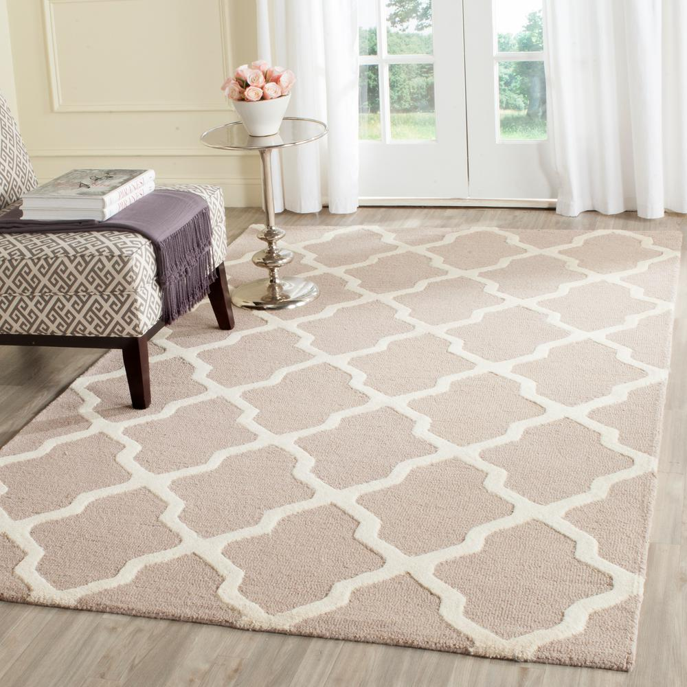 10 By 10 Rug Part - 17: Safavieh Cambridge Beige/Ivory 10 Ft. X 14 Ft. Area Rug