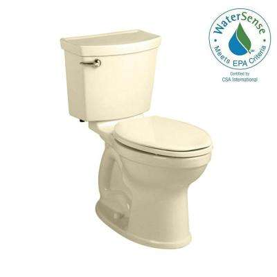 Champion 4 HET Tall Height 2-piece 1.28 GPF Single Flush High-Efficiency Elongated Toilet in Bone, Seat Not Included