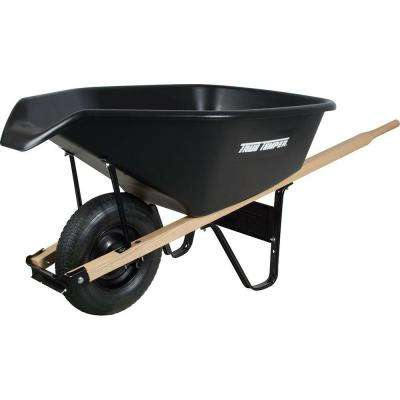 6 cu. ft. EZ Pour Poly Wheelbarrow