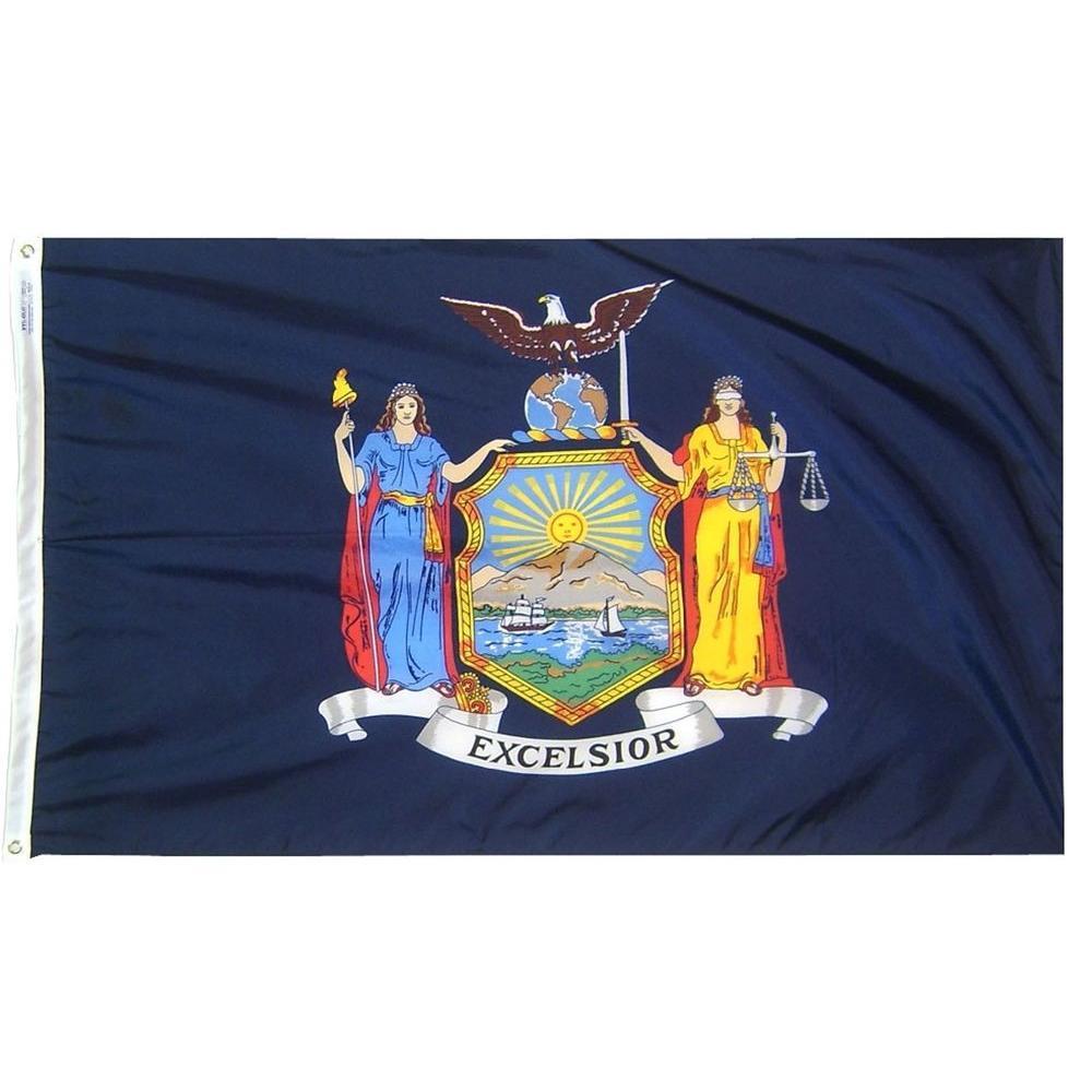 3 ft. x 5 ft. New York State Flag