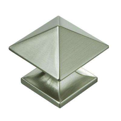 Studio 1 1/4 In. Stainless Steel Cabinet Knob