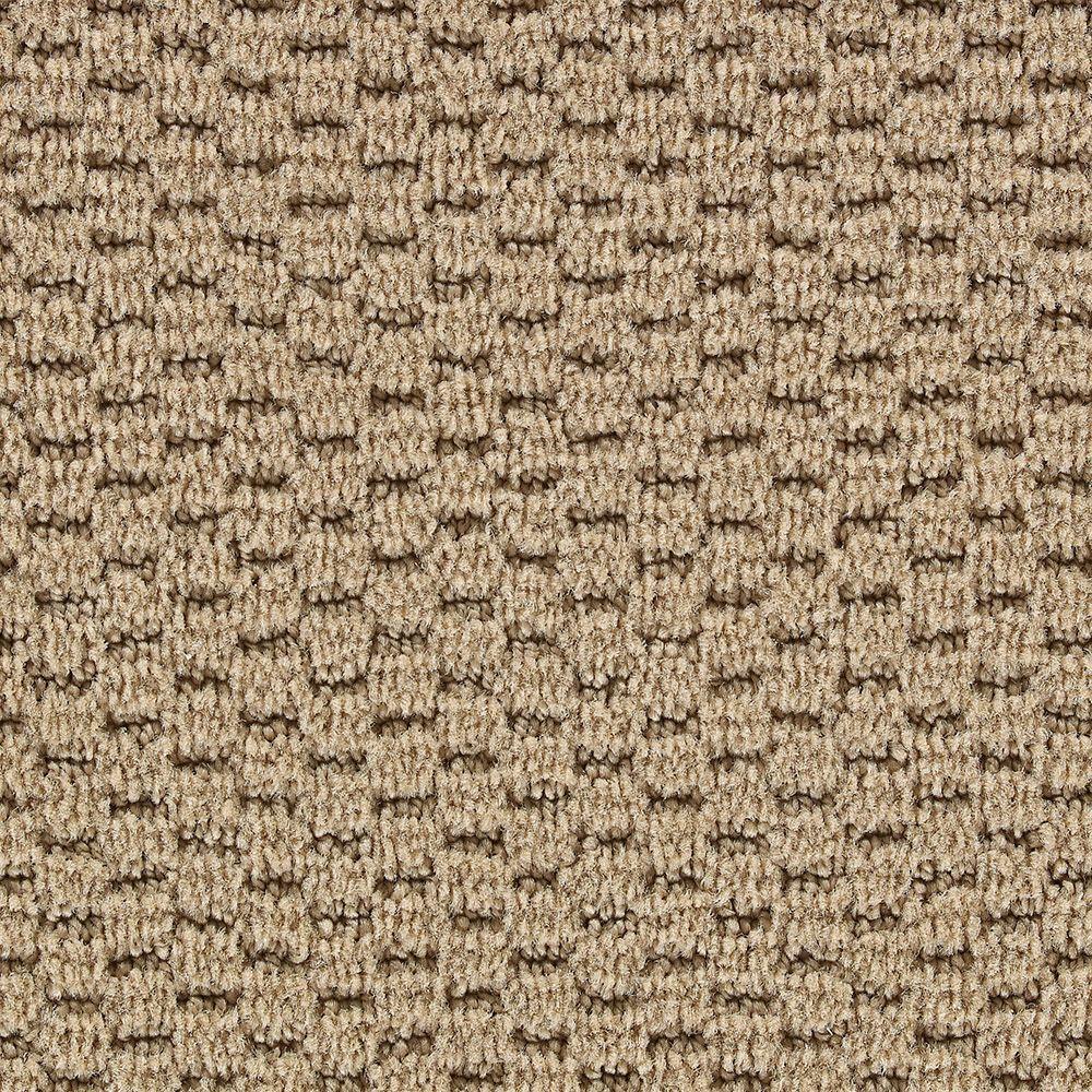 Martha Stewart Living Sandringham Tilled Soil - 6 in. x 9 in. Take Home Carpet Sample