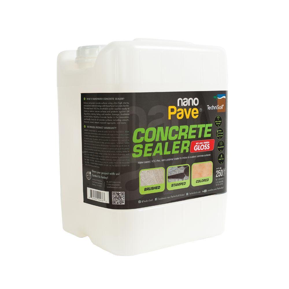 NanoPave 5 Gal. Gloss Concrete Sealer