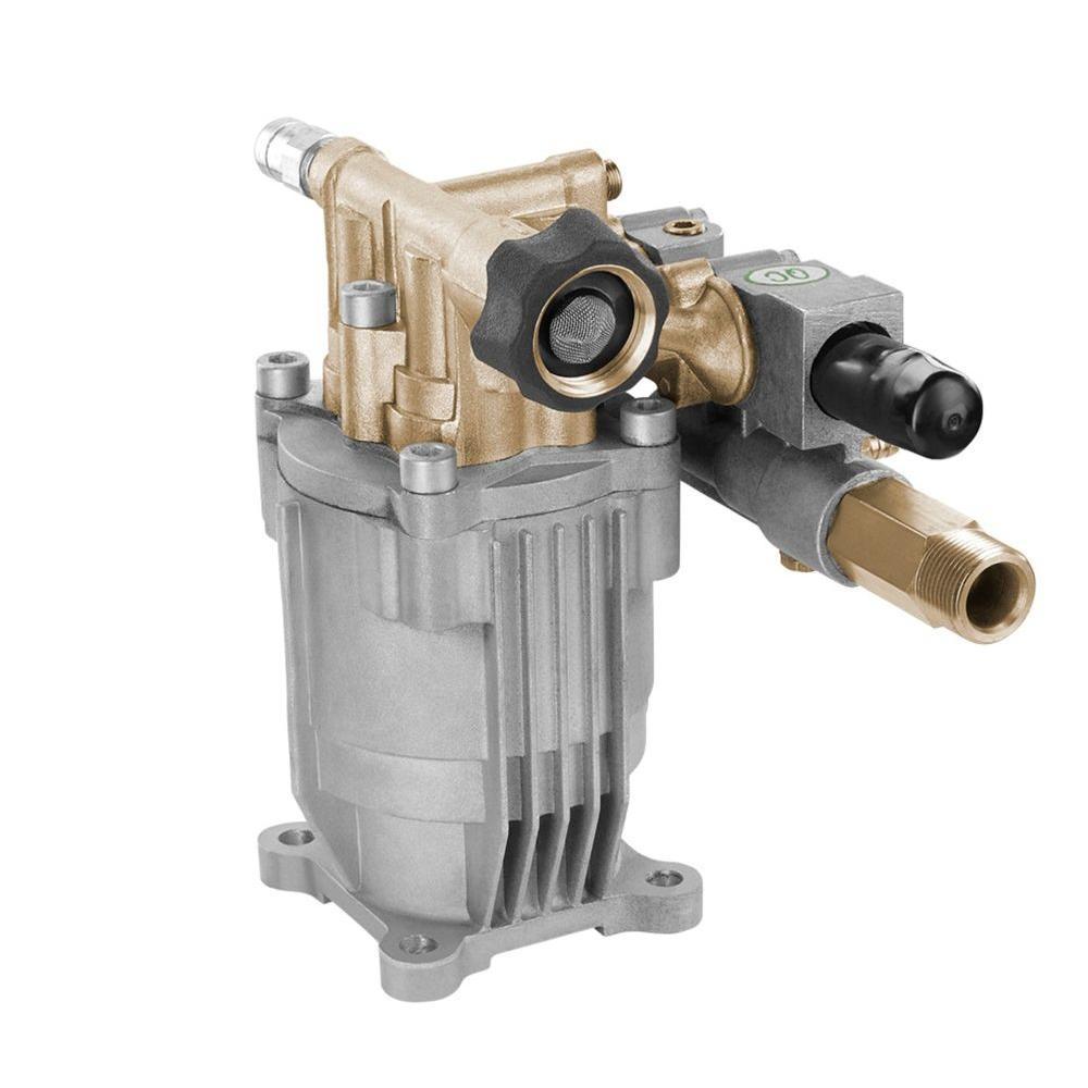PowerFit Horizontal Brass 3100-PSI Maximum Pressure Washer ...