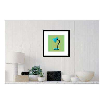 19.38 in. W x 19.38 in. H MCM Lamp II by PI Studio Printed Framed Wall Art