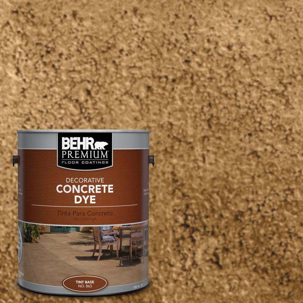 BEHR Premium 1 gal. #CD-808 Desert Sunset Concrete Dye