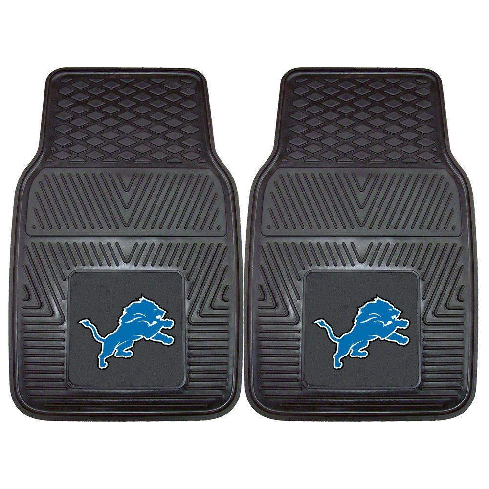 Fanmats Detroit Lions 18 In X 27 In 2 Piece Heavy Duty