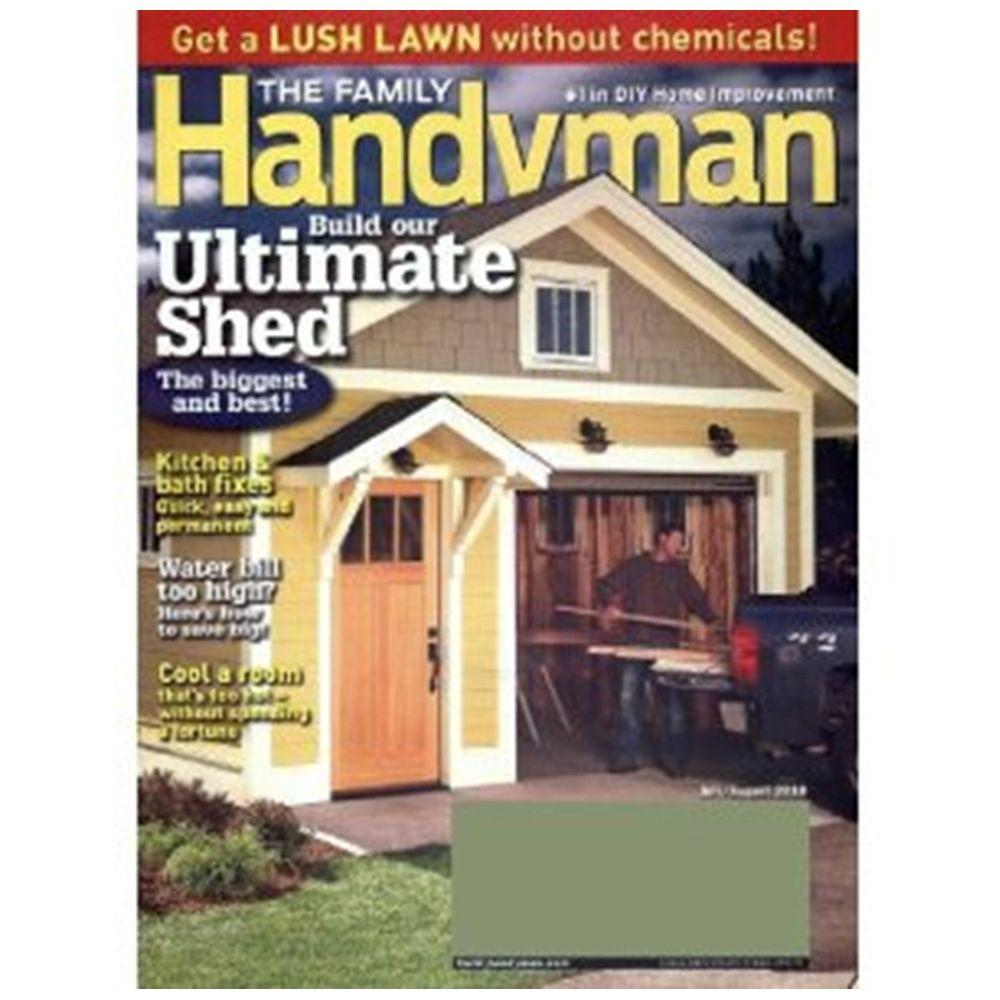 Family Handyman Magazine 08790 The Home Depot