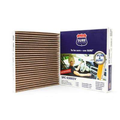 Replacement Antibacterial Cabin Air Filter for Wix 24857 Purolator C35530