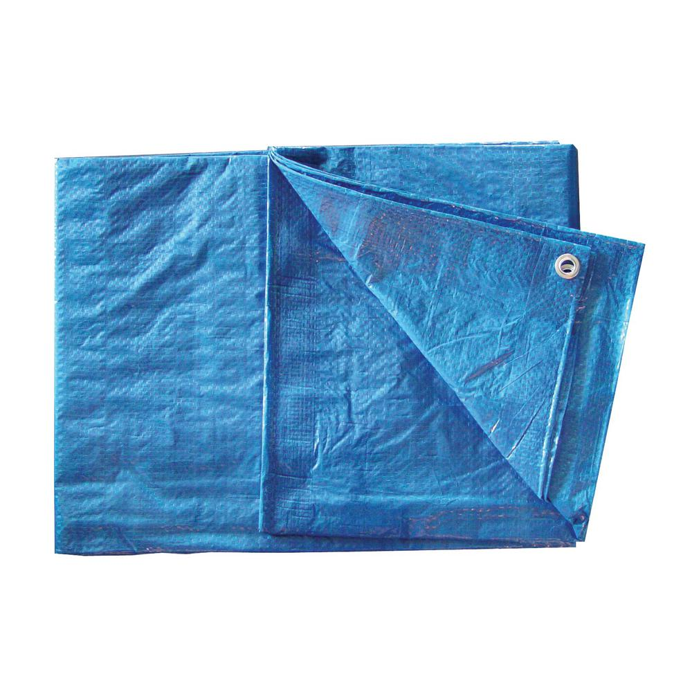 10 ft. x 12 ft. Blue Poly Tarp