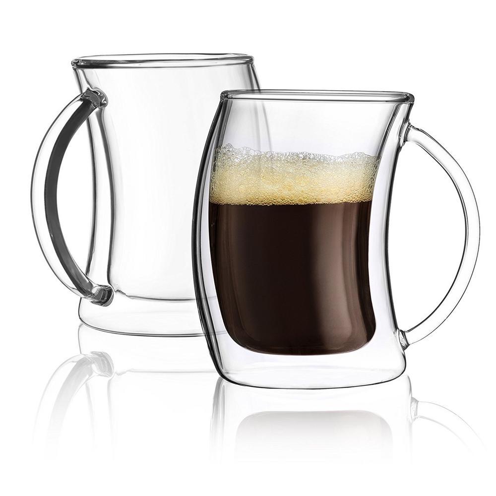 Caleo 2 oz. Double Wall Espresso Glasses (Set of 2)