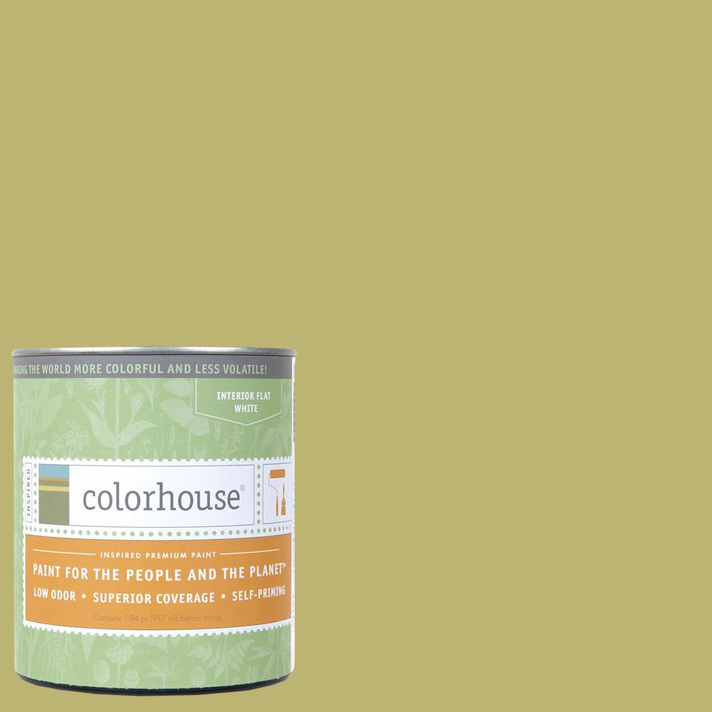 Colorhouse 1 qt. Leaf .04 Flat Interior Paint