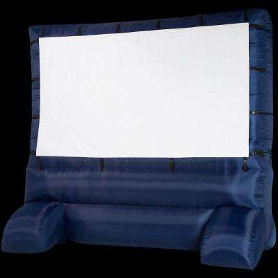 12 ft. Inflatable Diagonal Widescreen Airblown Deluxe Movie Screen