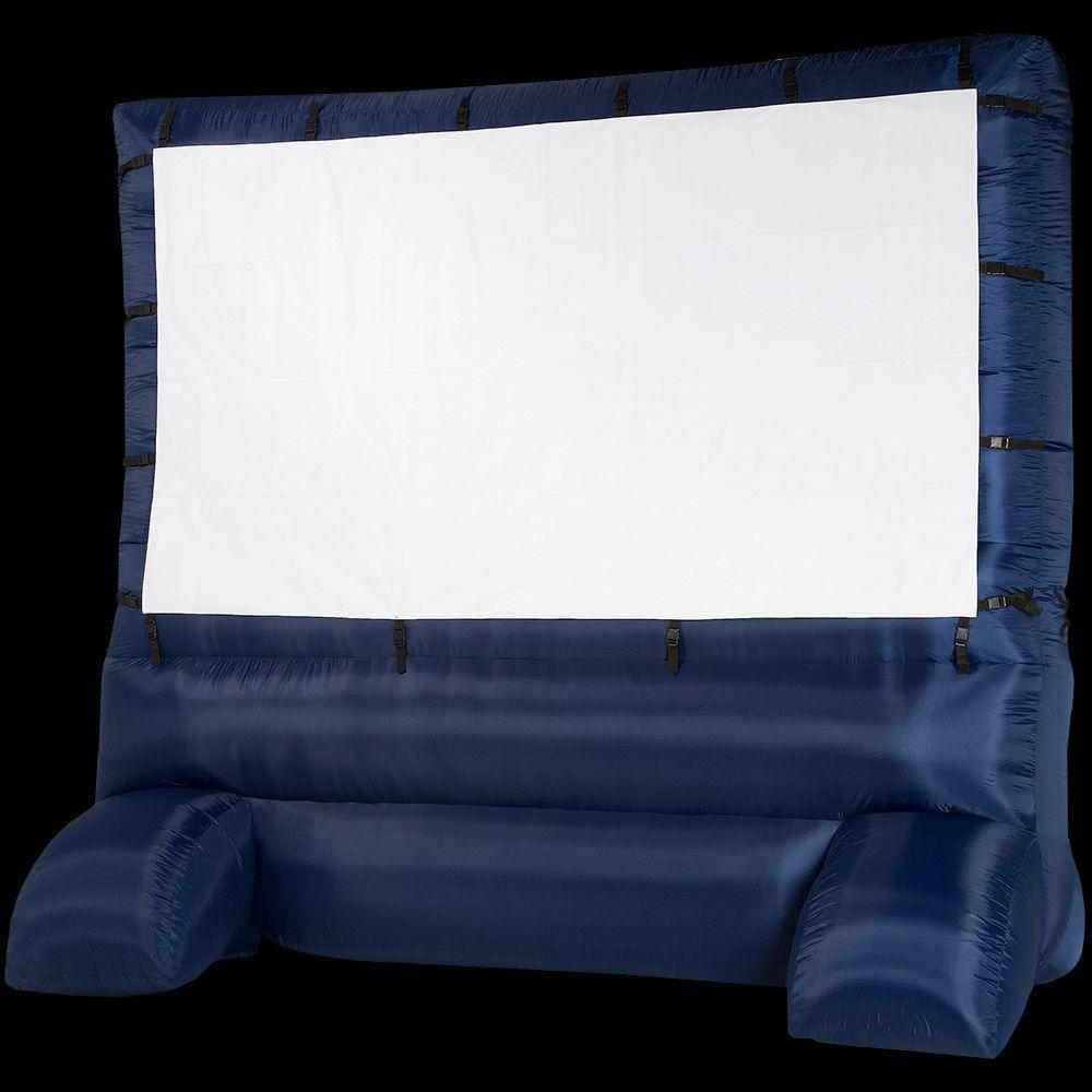 12 ft  Inflatable Diagonal Widescreen Airblown Deluxe Movie Screen