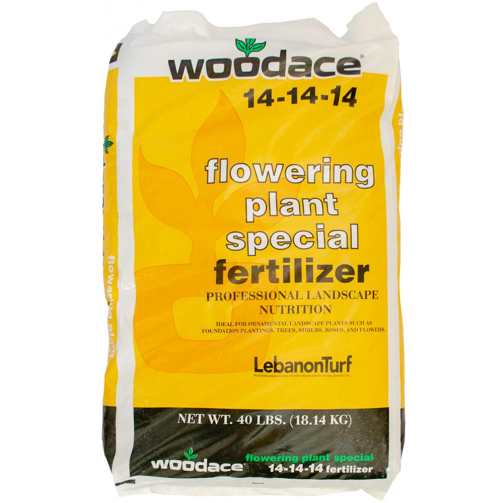 Woodace 40 lbs. Flowering Plant Special Fertilizer